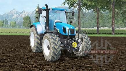 New Holland T6.140 front loader para Farming Simulator 2015