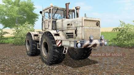 Kirovets K-701 poeira e traços de rodas para Farming Simulator 2017