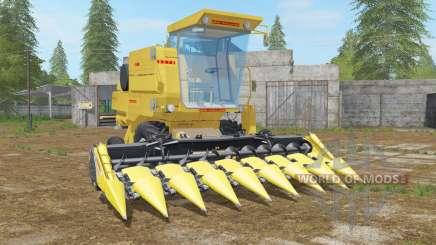 New Holland Clayson 8070 minion yellow para Farming Simulator 2017