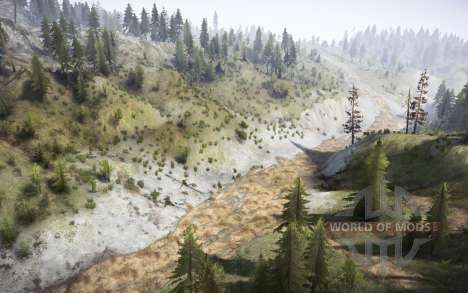 Gravel Trenches para Spintires MudRunner