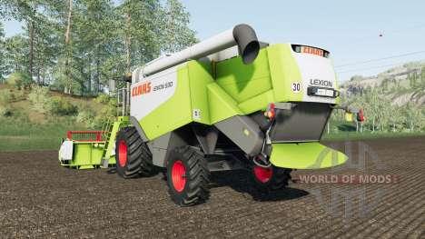 Claas Lexion 530 para Farming Simulator 2017
