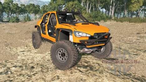 Hirochi Sunburst Rock Crawler para BeamNG Drive