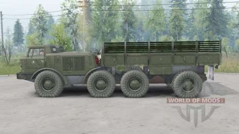 ZIL-135LM para Spin Tires