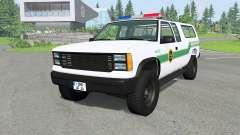 Gavril D-Series U.S. Border Patrol v2.1 para BeamNG Drive