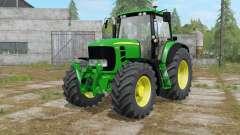 John Deere 7430&7530 Premium islamic green para Farming Simulator 2017