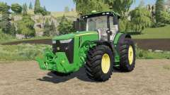 John Deere 8R-series 490-795 hp para Farming Simulator 2017