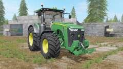 John Deere 8R-series hydraulics&weight para Farming Simulator 2017