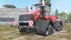 Case IH Steiger 1000 Quadtrac Red Baron para Farming Simulator 2017