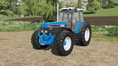 Ford 40-series added Michelin&Mitas tires para Farming Simulator 2017