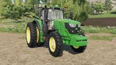 John Deere 6M-series row crop para Farming Simulator 2017
