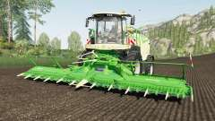 Krone BiG X 1180 use spherical trailers para Farming Simulator 2017