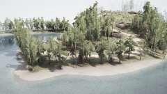 Coastal Green Hills para MudRunner
