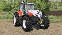 Steyr Profi CVT new tires para Farming Simulator 2017