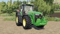 John Deere 8R-series with SeatCam para Farming Simulator 2017