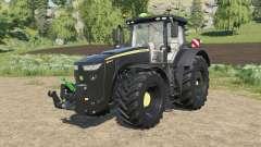John Deere 8R-series black version para Farming Simulator 2017