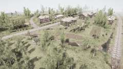 A aldeia e o rio Ural mergulhão-pequeno 2 para MudRunner