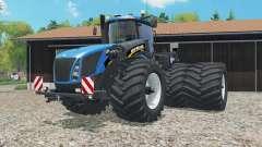 New Holland T9.565 dual rear wheels para Farming Simulator 2015