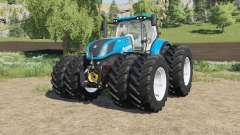 New Holland T7-series Michelin double wheels para Farming Simulator 2017