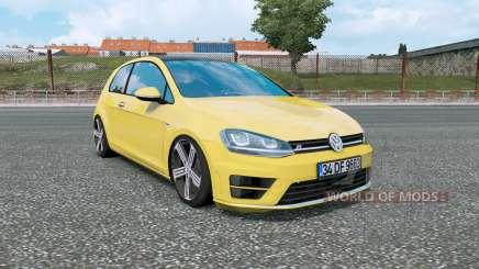 Volkswagen Golf R-Line (Typ 5G) 2013 v1.5 para Euro Truck Simulator 2