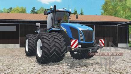 New Holland T9.565 added dual wheels para Farming Simulator 2015