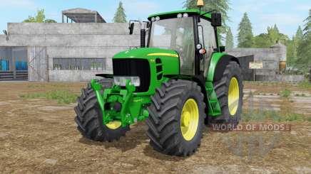 A John Deere 7430〡7530 Premium para Farming Simulator 2017