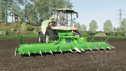 Krone BiG X 1180 with tank 50000 liters para Farming Simulator 2017