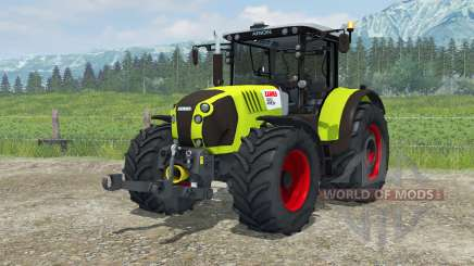 Claas Arion 620 animated interior para Farming Simulator 2013