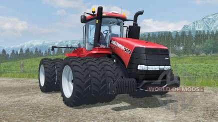 Case IH Steiger 500 triples row crop para Farming Simulator 2013