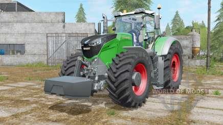 Fendt 1000 Vario with weight para Farming Simulator 2017