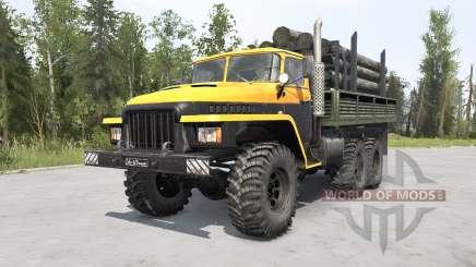 Ural-375Д Principais v1.2 para MudRunner