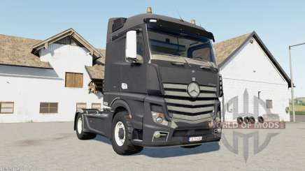 Mercedes-Benz Actros (MP4) davys grey para Farming Simulator 2017