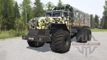 VTS de Ural-Polyarnik para MudRunner