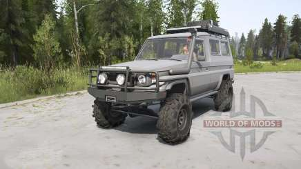Toyota Land Cruiser Troop Carrier (J75) surge para MudRunner