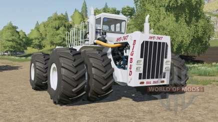Big Bud 16V-747 all wheel steer para Farming Simulator 2017