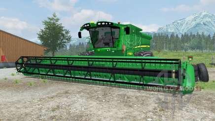John Deere S690i manual ignition para Farming Simulator 2013