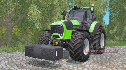 Deutz-Fahr 9340 TTV Agrotron com weighƫ para Farming Simulator 2015
