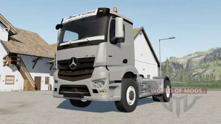 Mercedes-Benz Antos 3245 para Farming Simulator 2017