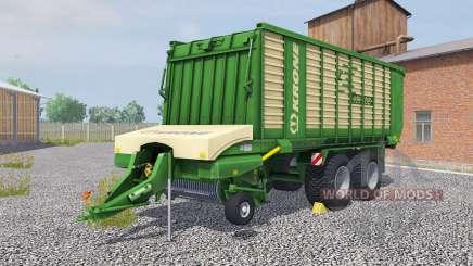 Krone ZX 450 GD la salle green para Farming Simulator 2013