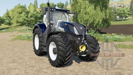 New Holland T7-series Blue Power Chrome para Farming Simulator 2017