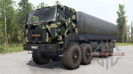 Ural-M 532362-70 pintura de camuflagem para MudRunner