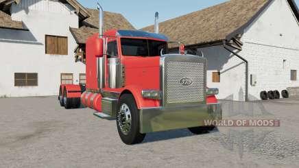 Peterbilt 379 new fuel tanks para Farming Simulator 2017