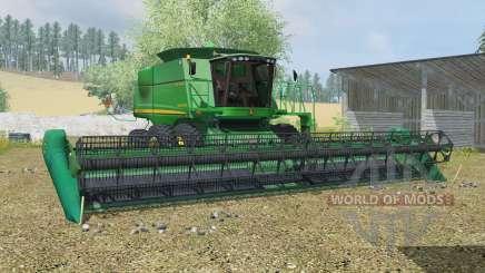 John Deere 9770 & 635D para Farming Simulator 2013