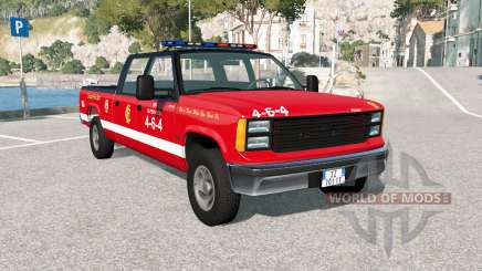 Gavril D-Series Chicago Fire Department para BeamNG Drive