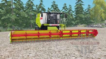 Claas Lexion 770 TerraTrac rio grandᶒ para Farming Simulator 2015