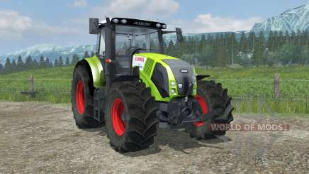 Claas Axion 820 suspension axis wheel steering para Farming Simulator 2013
