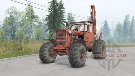 DT-75 roda para Spin Tires