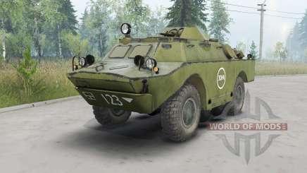 BRDM-2 escura ninasimone verde para Spin Tires