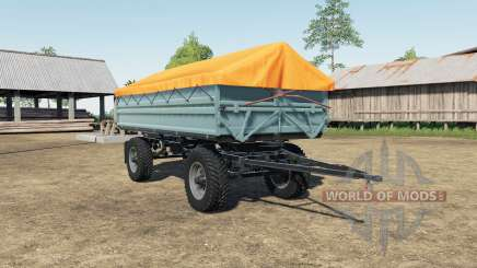 Fortschritt HW 80 Nokian tire para Farming Simulator 2017
