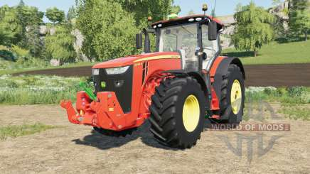 John Deere 8R-series multicolor para Farming Simulator 2017