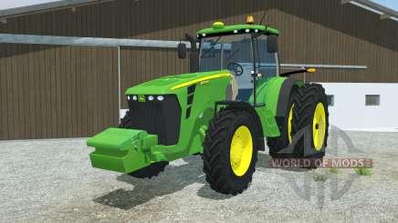 John Deere 8345R double wheels para Farming Simulator 2013